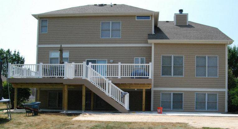 Deck Construction Deck Design Herzing Installations Inc